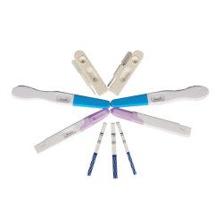 Dispositivo médico HCG Kits de teste de gravidez para venda por grosso Fabricado na China