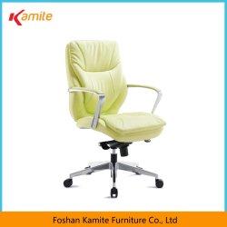 Foshan-modernes Büro-Möbel-hoch Rückseiten-Schwenker-Stuhl-Leder-Executivstuhl mit Armlehnen