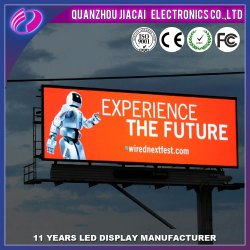 Commerce de gros Outdoor P10 Full LED de couleur enseigne publicitaire