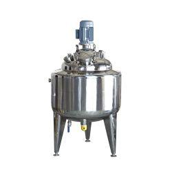 Calefacción eléctrica de alta presión de extracción por solvente fermentador forrados por lotes paleta climatizada depósito mezclador
