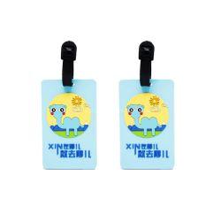 Diamante personalizzato della bambola di disegno di prezzi di fabbrica che fa galleggiare le modifiche poco costose dei bagagli del cuoio bianco del PVC della modifica molle dei bagagli con ecologico (66)