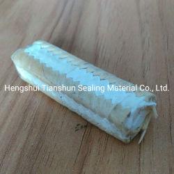 Чистый тефлоновой подложки с кевларовые волокна углу упаковки оплеткой