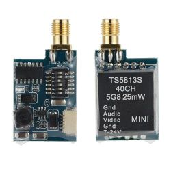 Fpv Ts5813s Minidrahtloser Übermittler der bild-Übertragungs-5.8g 25MW 40CH für Multicopter