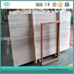 Cinza laje de mármore de madeira, mármore de madeira branca para venda