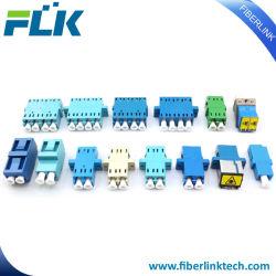 LC/Sc/FC/St/Mu/E2000/MTRJ/MPO Adapter/de Adapters van de Vezel Om3/Om4 APC/Upc van het Simplex/van de Duplex/van de Vierling Singlemode/Multimode Optische/Optische