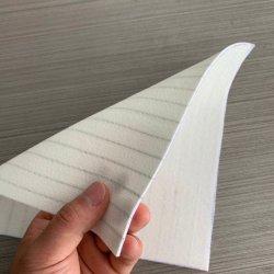 Polyester antistatique rayé de l'aiguille feutre perforée de tissu filtrant