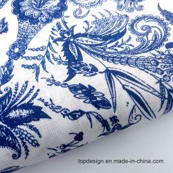 Tissu tissé Linge de maison Robe tissu imprimé