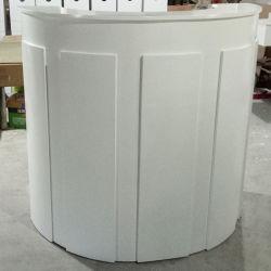 Rd2073 Салон красоты мебель белого цвета деревянной стойкой регистрации Круглый Стол письменный стол подставка
