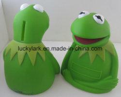 O Plástico Verde banqueiro dinheiro rã Frog Caixa de moedas Caixa de Poupança de PVC a Frog Prince Caixa de dinheiro