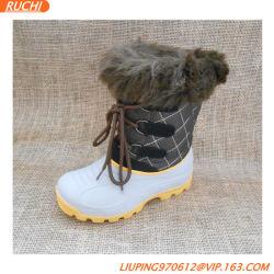 De Enige Kinderen TPR maken de Warme Jonge geitjes van de Schoenen van de Laars van de Sneeuw waterdicht