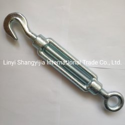 Gegalvaniseerde Gestampte DIN1480 Commerciële Buigzame JIS ons de Spanschroef van het Type