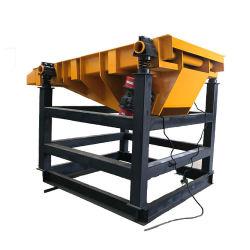 Alimentador de vibrações das máquinas de mineração de ouro do Rock Máquina de vegetais, Banheira de venda da Bandeja Vibratória Alimentador vibratório Alimentador Preço Grizzly
