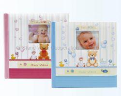 Album di foto rilegato del libro su ordinazione, album 4 '' *6 '' 200photos del bambino