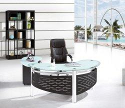 ガラスオフィス表の管理の机2019の現代オフィス用家具の商業家具ワークステーション区分の高品質