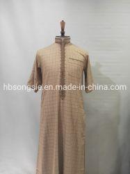 Los hombres islámicos Thobe árabe Marruecos túnica de estilo de Bahrein