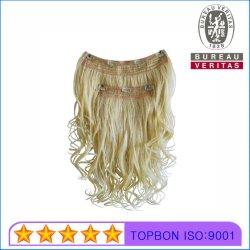 Capelli di Remy di estensione dei capelli della clip di capelli del brasiliano della parte 100% dei capelli 2 del Virgin dei capelli umani