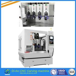 Automatischer Tool Change CNC Carving Machine für Polishing/Drilling/Milling/Chamfering/Cutting/Grinding/Carving/Engraving.