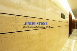 Natureza pedra mármore travertino romano para Hotel Mosaico na parede ou escadas