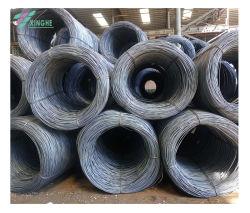 5.5 مم 6.5 مم 8-10 مم SAE 1006 1008 1010 1012 1014 من الفولاذ قضبان الأسلاك للتشييد