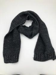 Uomini su ordinazione della sciarpa del Knit della sciarpa 100% del Knit di verifica di BSCI del Knit della sciarpa della sciarpa acrilica fine lunga del Knit