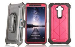 Pc TPU bumper met schermbeschermer Heavy Duty Armor Cell Telefoontas voor iPhone 9 Plus