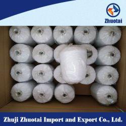 Het hete Garen van de Draad van het Latex van de Polyester van het Garen van Spandex van de Verkoop Dubbele Behandelde Rubber voor het Breien van Sokken