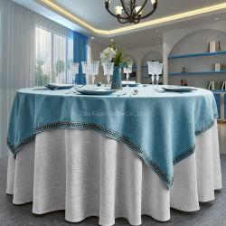 Nouveau design 2020 Banquet de mariage partie Accueil Hôtel chiffon avec de la table étanche