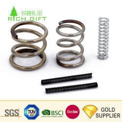 Commerce de gros bon marché de la compression en spirale de la bobine de fil personnalisés formant la précision de l'horloge de petits articles de papeterie ressort en acier inoxydable