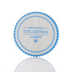 Logotipo personalizado imprimir papel absorbente bebidas posavasos
