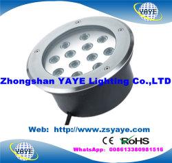 Yaye 18 heiße runde LED TiefbauLight/LED Inground Light/LED helle Bodenlampe des Verkaufs-Fabrik-Preis-5With7With 9With12With15With18With21With24With30W mit 2/3/5 Jahren Warrantry