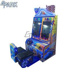 Heureux les enfants de la vitesse Coin exploité Machine de jeu vidéo de course de voitures