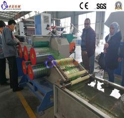 Fibra di plastica del monofilamento del filato del filamento della cordicella della corda di Pet/PP/HDPE/LDPE che fa torcimento della macchina dell'espulsione