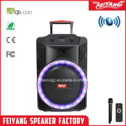 15 polegada Karaoke Coluna frontal com controle da NFC FCC
