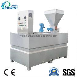 Sistema Dosificador automático de polímero químico para planta de tratamiento de efluentes de diseño