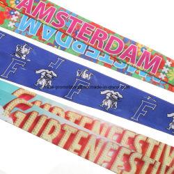 Шейный ремешок логотип нейлоновые сотовый телефон поворотный пружинного стопорного крючка шнурки Эмблему Держателем трафаретной печати шнурки ID Эмблему Держателем