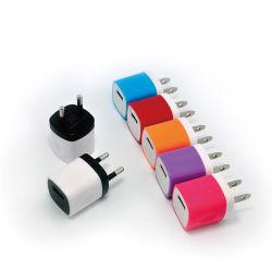 5V1a Us/EU Stecker-Minifinger-Aufladeeinheit bunte USB-Wand-Aufladeeinheit