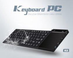 precio de fábrica K8 Plus Mini ordenador con la Z8300/Z8350 panel táctil de 4 GB y+64GB Win10