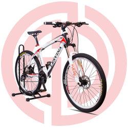 26 Zoll Mountain Fahrrad Carbon Fiber Frame Multi-Speed 27 Speed Ölbremse