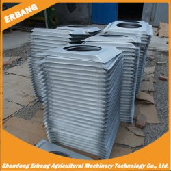 Série de aquecimento de água quente do radiador com ar quente em estufa de aquecimento