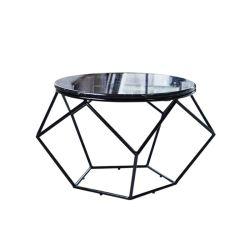 Meubles de salle à manger Table en marbre de gros châssis métallique résistant
