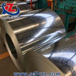 Material de construção de imersão a quente Q235B galvanizado, bobina de aço G60