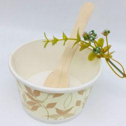 Prix Compeptitive Double jetables revêtu de PE de la crème glacée Coupe du papier