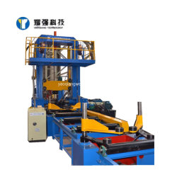 certificado CE Assembly-Welding automática enderezado a 3 en 1 integrada de la máquina para la viga H