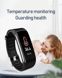 Karosserien-Thermometer-intelligente Uhr-Monitor-Temperatur