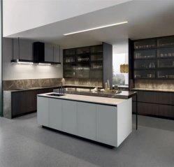 最も最近普及した方法 Stylesh の傾向の台所家具現代台所キャビネット ハンドルをすっきりとしたデザインダブルシンク