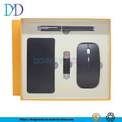 Ladend Van de Bedrijfs schat Gift de Vastgestelde Draadloze Pen van de Muis USB de Mobiele Douane Logo/2 van de Macht