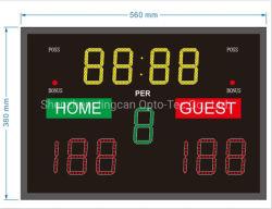 L'extérieur LED étanche portable Tableau de bord électronique de basket-ball
