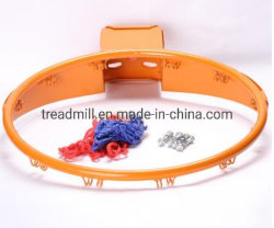 Bague en acier creux Hoop Rim avec net pour le sport de basket-ball