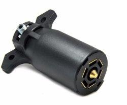 RV Trailer-Side Blade de 7 vías Tráiler cableado conector de 7 polos Conector del remolque