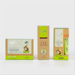 Bébé de luxe personnalisé visage crème de soin de peau cosmétiques Boîte de papier de l'emballage vide